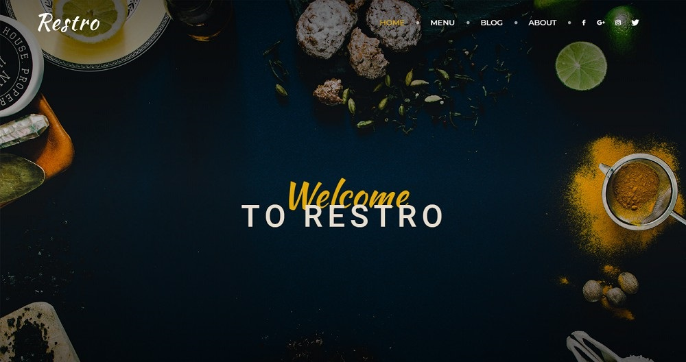 30+ Best Responsive WordPress Restaurant Themes 2020