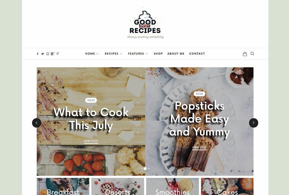 18 Best Responsive WordPress Food Blog Themes 2020