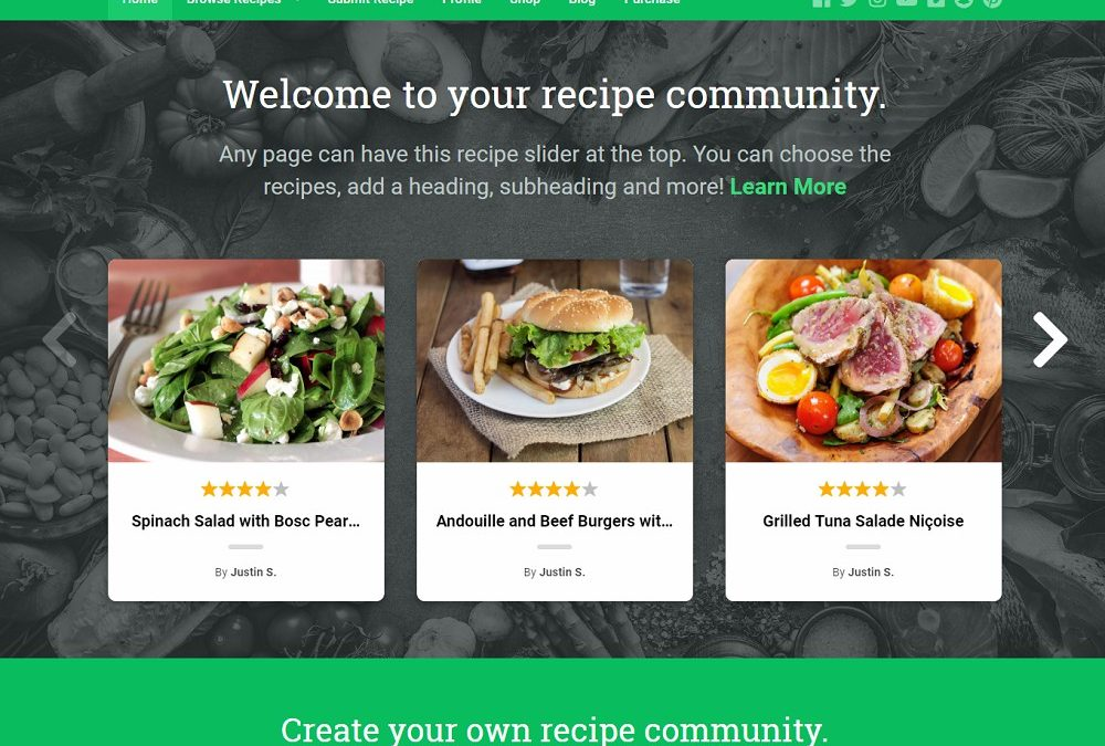 15+ Best Responsive WordPress Recipe Themes 2020