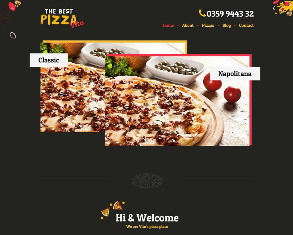 Vito's - wordpress pizza