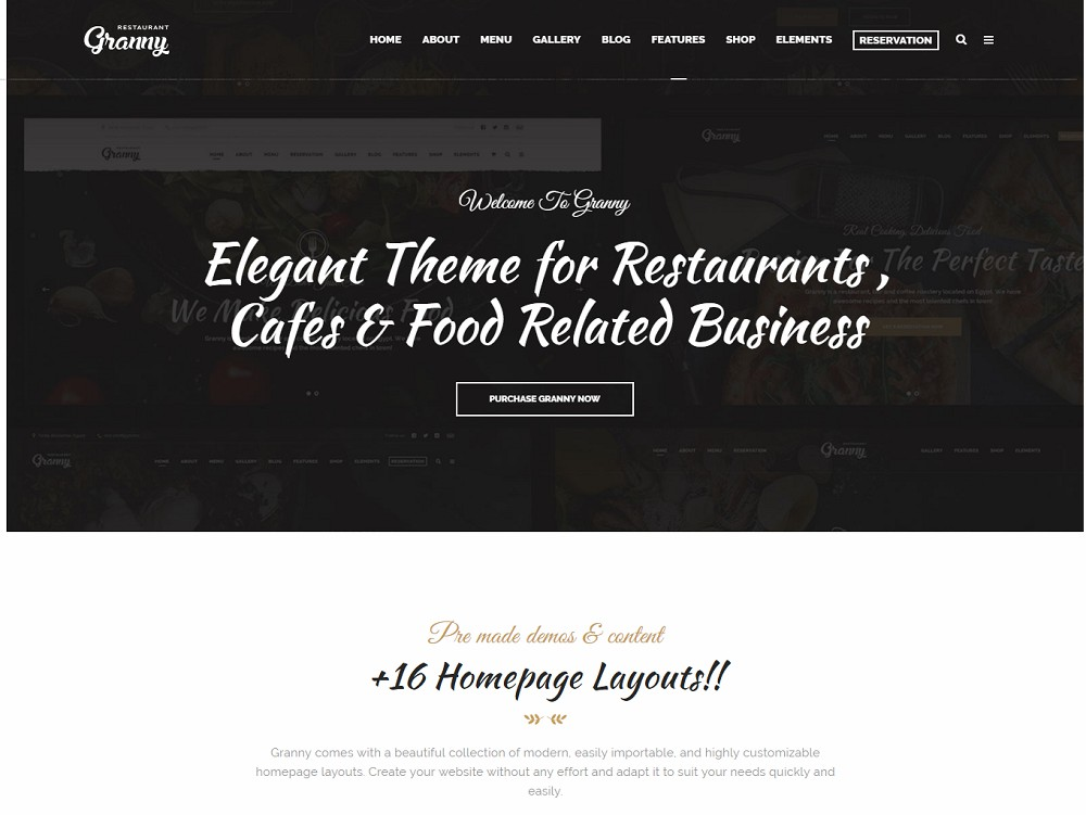 coffee shop wordpress theme free