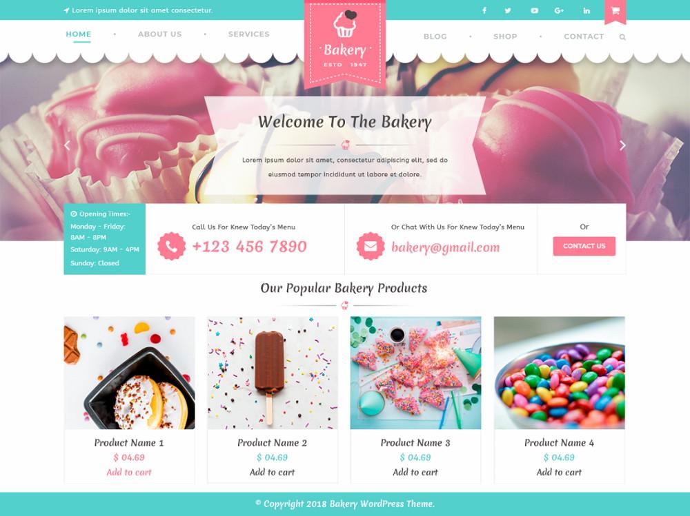 wordpress food blog