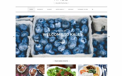 Top 20 Free WordPress Food Themes 2020