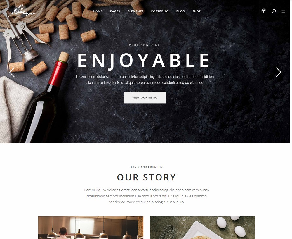 Savory - restaurant theme ideas