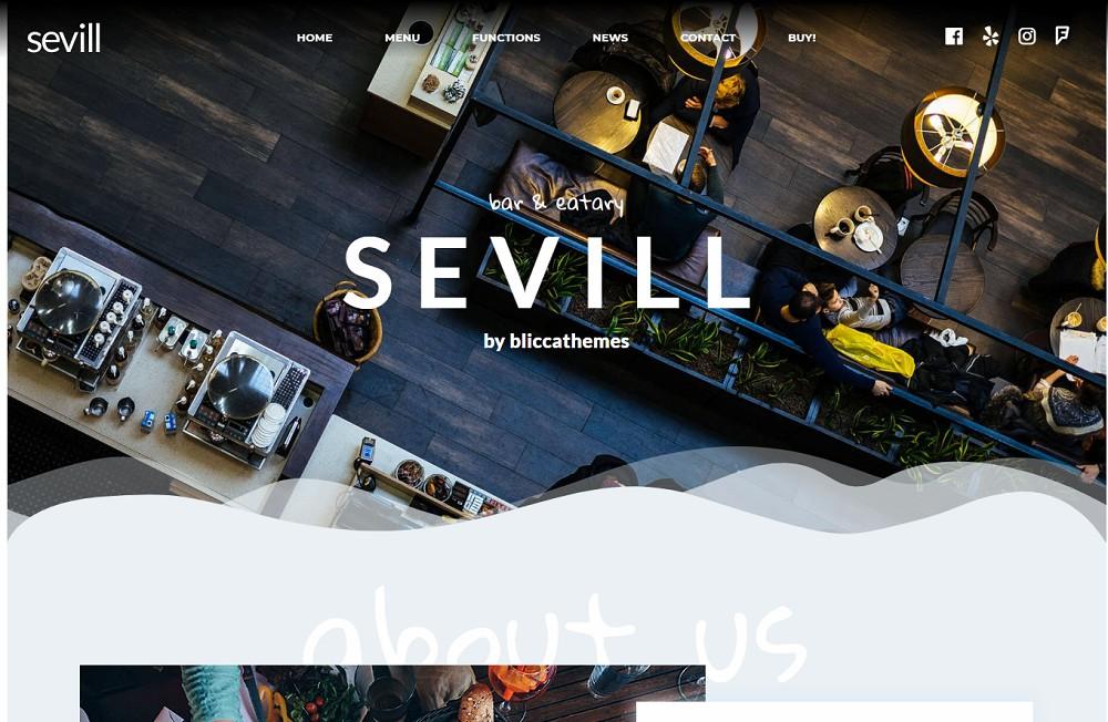 Sevill - cafe themes
