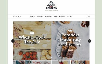 18 Best Responsive WordPress Food Blog Themes 2020