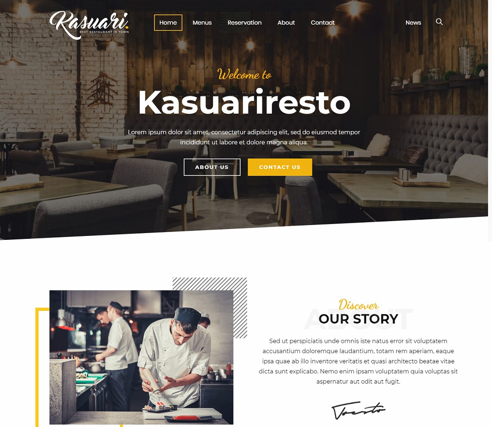 Kasuari - catering theme