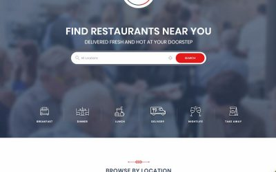 20+ Professional Food Delivery WordPress Theme 2021