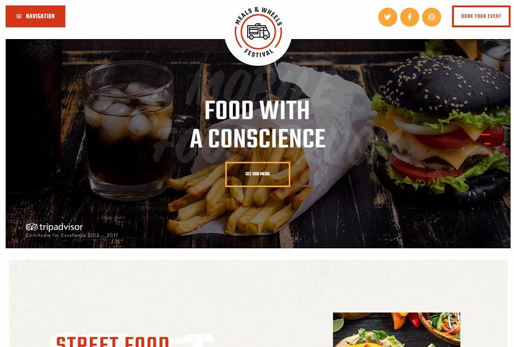 15 Topnotch Online Food Ordering WordPress Theme