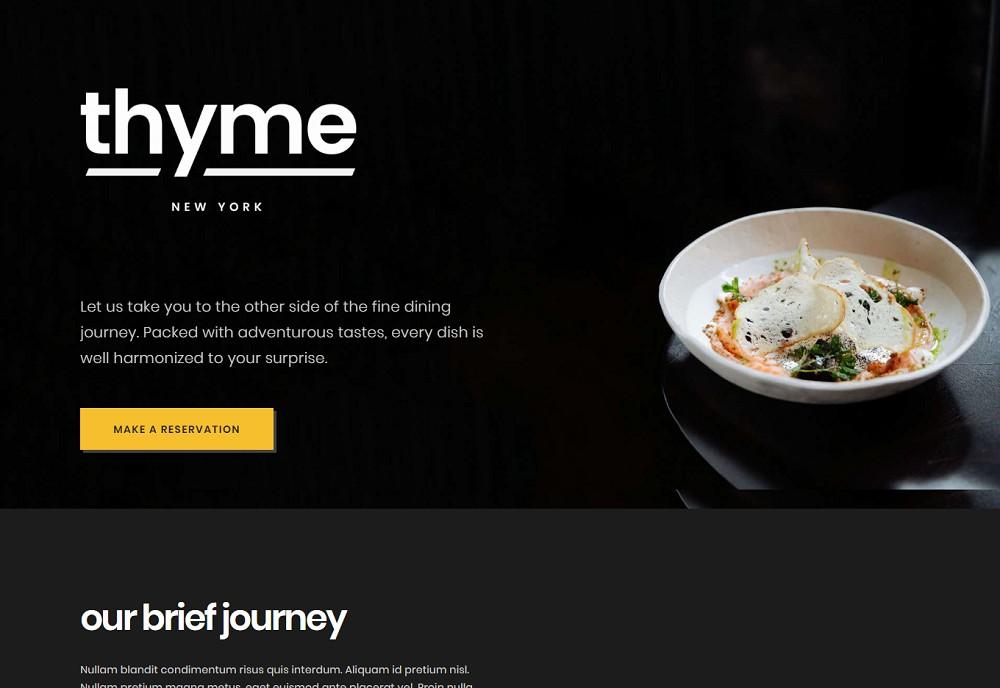 wordpress restaurant theme online ordering