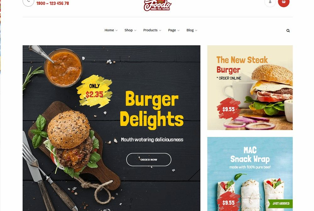 20+ Best Responsive Burger WordPress Themes For All Time