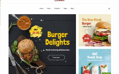 20+ Best Burger WordPress Theme For All Time