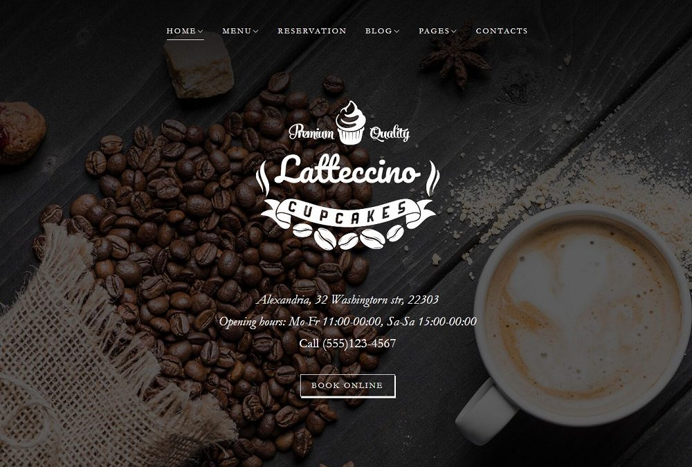 Best 22 WordPress Themes For Cafe or Coffee/Tea Shop