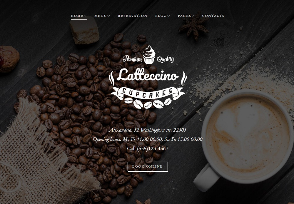 Best WordPress Themes For Cafe or Coffee/Tea Shop
