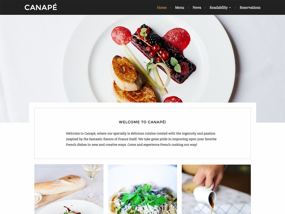 free wordpress recipe themes