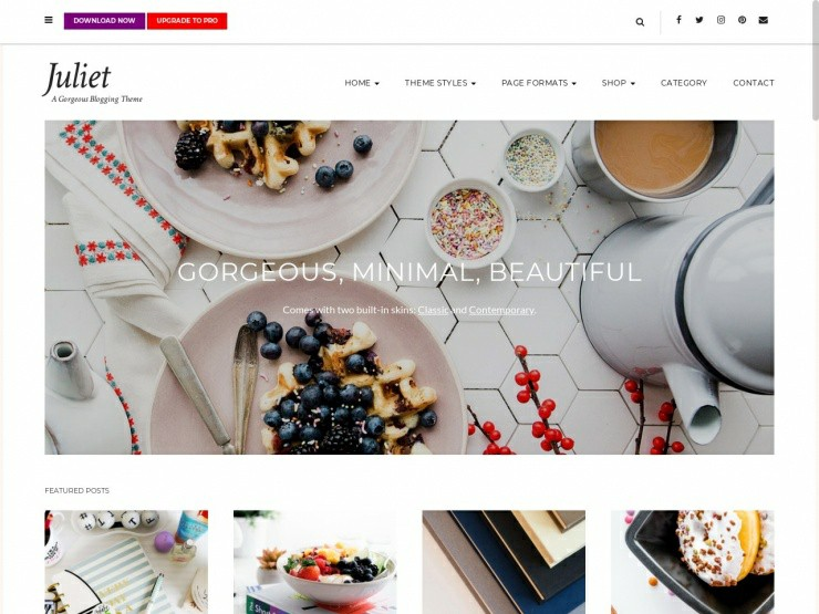 wordpress recipe template
