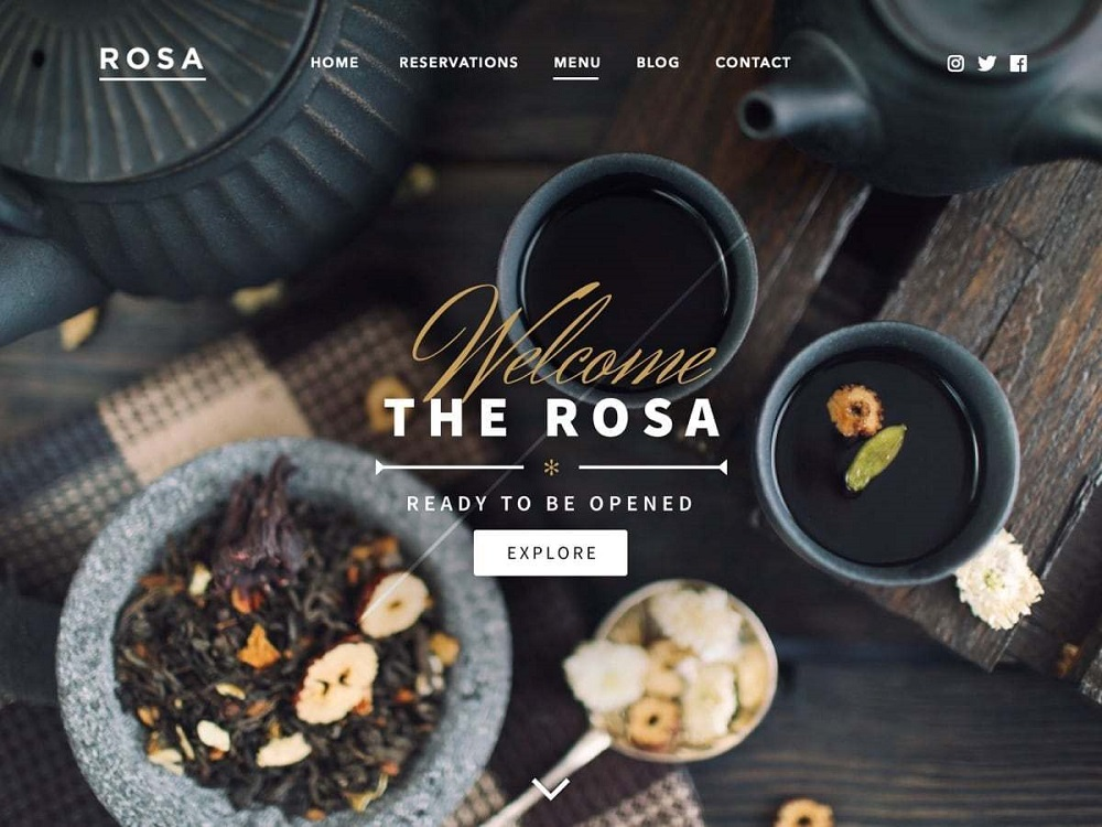free wordpress food themes