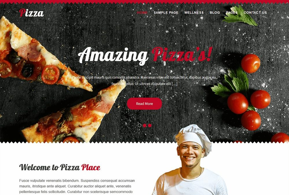 15+ Best WordPress Pizza Theme Free [updated]