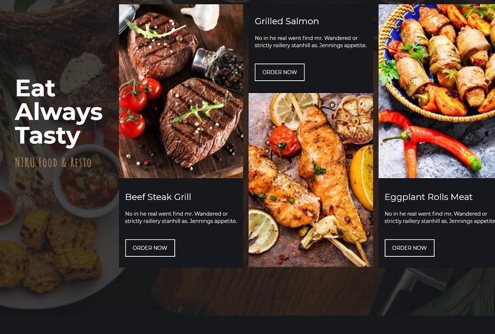 20+ Best Food Menu Themes 2021