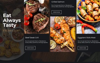20+ Best Food Menu Themes 2021