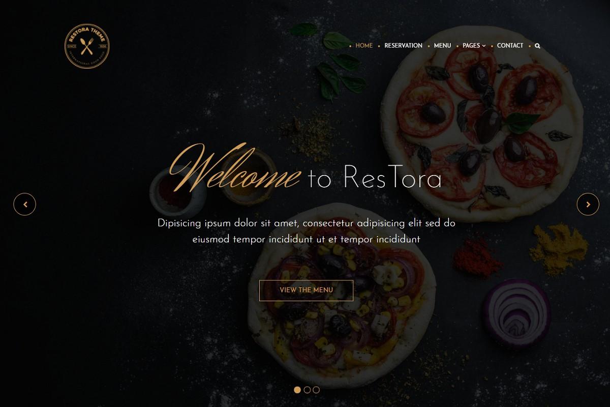 Restora-best-free-wordpress-restaurant-theme