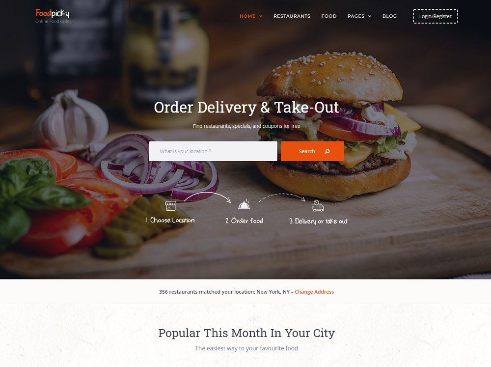 Best restaurant directory wordpress theme for all time