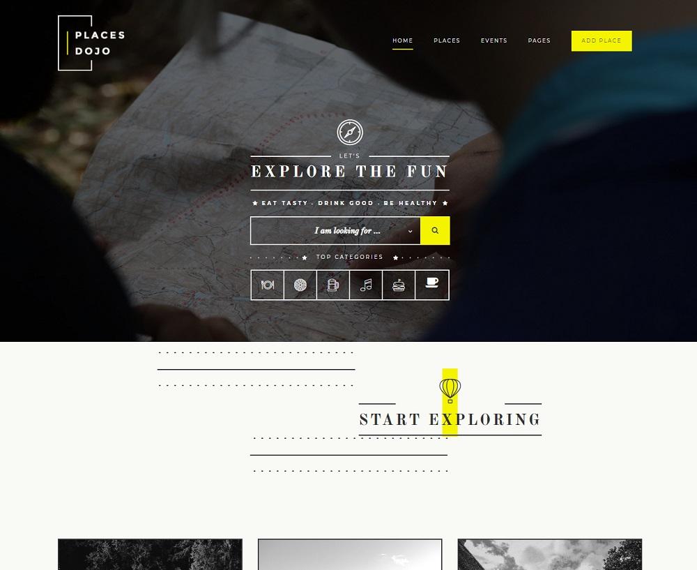 PlacesDojo - restaurant directory WordPress theme